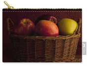 Apples In Basket Carry-all Pouch