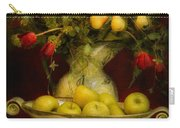 Apples Pears And Tulips Carry-all Pouch