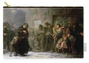 Applicants For Admission To A Casual Carry-all Pouch by Sir Samuel Luke Fildes