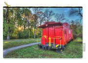 Appomattox Caboose At Sun Rise Carry-all Pouch