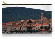 Approaching Korcula Carry-all Pouch