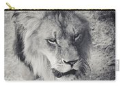 Approaching Lion Carry-all Pouch