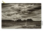 Approaching Monument Valley Carry-all Pouch