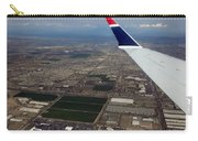Approaching Phoenix Az Wing Tip View Carry-all Pouch