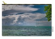 Approaching Storm At Whale Harbor Carry-all Pouch