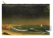 Approaching Storm Near Newport Beach Carry-all Pouch by Martin Heade