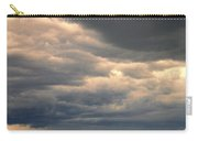 Approaching Storm On Country Road Carry-all Pouch