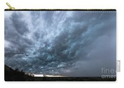 Approaching Storm Over Belton-sunset Carry-all Pouch