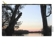 Approaching Sunset Silhouettes Carry-all Pouch