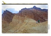 Approaching The Jagged Peaks In Golden Canyon In Death Valley National Park-california  Carry-all Pouch