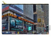 approaching Times Square Carry-all Pouch