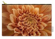 Apricot Dahlia Carry-all Pouch