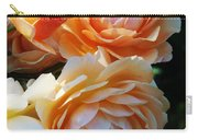 Apricot Dahlias Carry-all Pouch