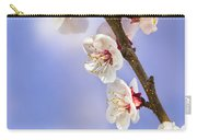 Apricot Flowers Carry-all Pouch