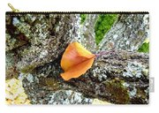 Apricot Leaf And Lichen Carry-all Pouch