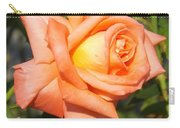 Apricot Nectar Rose Carry-all Pouch