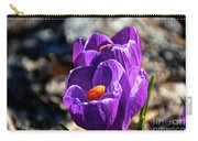April Crocus' Carry-all Pouch