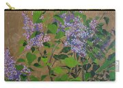 April Lilacs Carry-all Pouch
