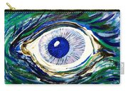 Aqua Eye Carry-all Pouch