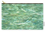 Aqua Green Water Art 2 Carry-all Pouch