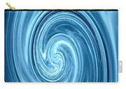 Aqua Lagoon Abstract Carry-all Pouch