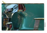 Aqua Marine Blue Chevy Carry-all Pouch
