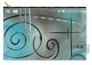 Aqua Mist By Madart Carry-all Pouch