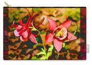 Aqualigia Floral 11x14 Carry-all Pouch