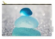 Aquamarine Ice Light Carry-all Pouch
