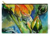 Aquarelle Carry-all Pouch by Elise Palmigiani