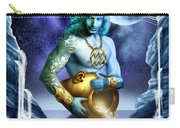 Aquarius Carry-all Pouch by Ciro Marchetti
