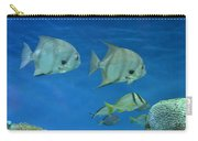 Aquatic Blues Carry-all Pouch