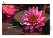 Aquatic Floral Flamenco Carry-all Pouch
