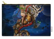 Aquatic Goddess On Unicorn Seahorse Carry-all Pouch