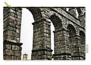 Aqueduct Of Segovia - Spain Carry-all Pouch by Juergen Weiss