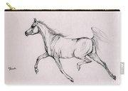 Arabian Horse  2014 02 25b Carry-all Pouch