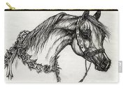Arabian Horse Drawing 22 Carry-all Pouch