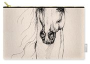 Arabian Horse Drawing 25 Carry-all Pouch