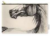 Arabian Horse Drawing 26 Carry-all Pouch