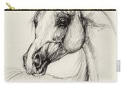 Arabian Horse Drawing 27 Carry-all Pouch