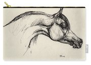 Arabian Horse Drawing 30 Carry-all Pouch