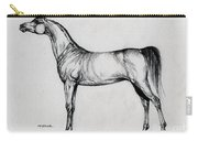 Arabian Horse Drawing 34 Carry-all Pouch