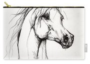 Arabian Horse Drawing 38 Carry-all Pouch