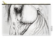 Arabian Horse Drawing 45 Carry-all Pouch