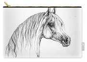 Arabian Horse Drawing 47 Carry-all Pouch