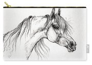 Arabian Horse Drawing 51 Carry-all Pouch