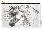 Arabian Horse Drawing 53 Carry-all Pouch