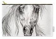 Arabian Horse Drawing 55 Carry-all Pouch