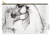 Arabian Horse Drawing 8 Carry-all Pouch