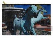 Arabian Horse Sculpture Carry-all Pouch